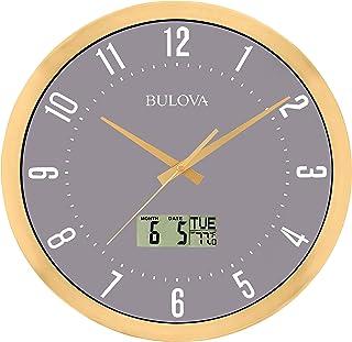 Bulova C4830 Lobby Wall Clock, 14