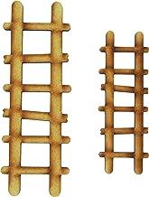 Alchemy Feentür-Zubehör: Doppelpack Holzleiter für Feengärten