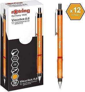 metallo texture penna 2 scatole di 0,5 mm//2B piombo 0,5 mm basso centro di gravit/à portamine automatico 2PS