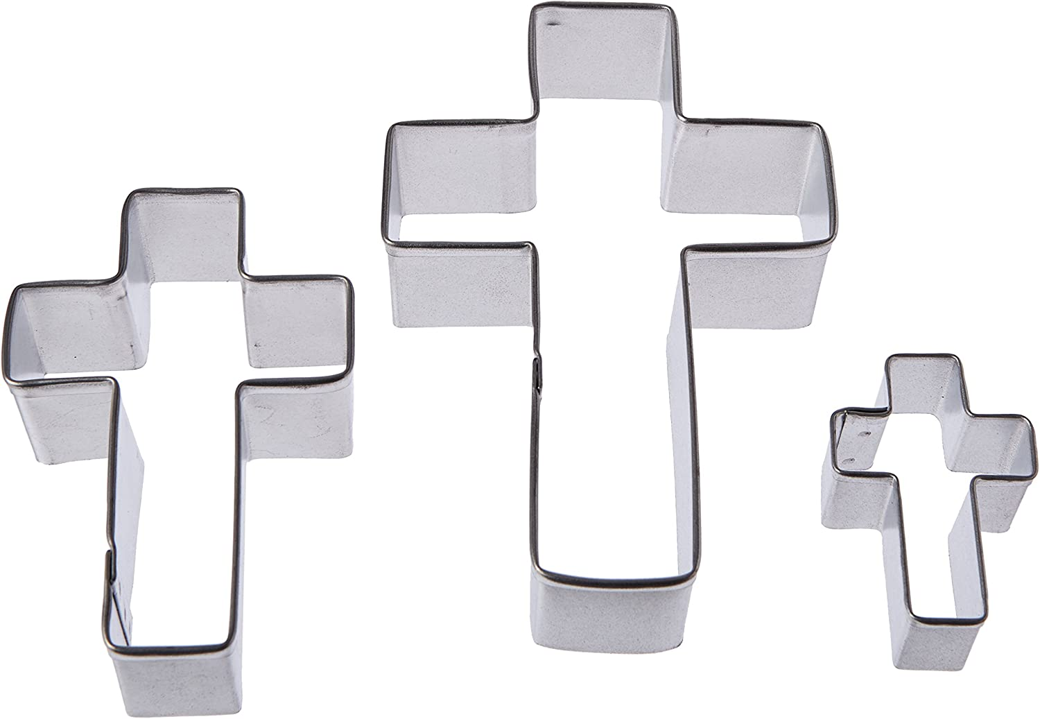 RM International Cross Indianapolis Mall Cookie Sizes Assorted Cutters Fees free!! 3-Piece