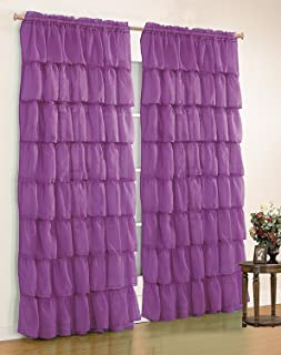 Fancy Collection 1 Panel Curtain (55