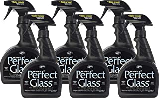 Hope's Perfect Glass Cleaning Spray, 32-Ounce, Case of 6, Streak-Free Glass Cleaner, Less Wiping, No Residue