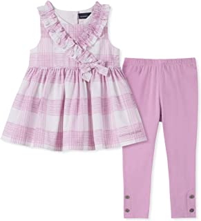 Calvin Klein 女童 2 件套打底裤套装