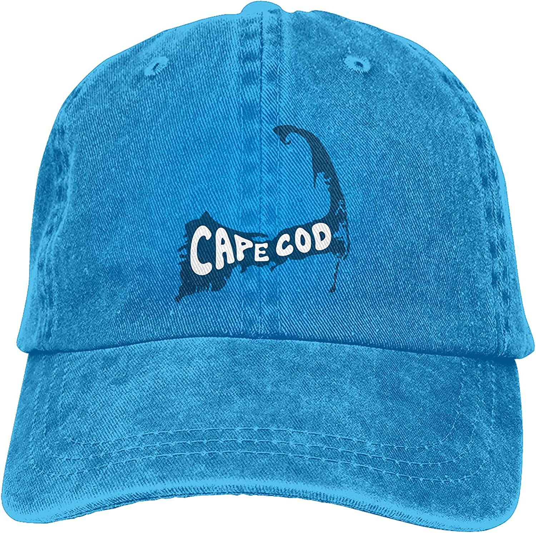 Cape Cod Massachusetts Baseball Cap, Adjustable Size Dad Hat, Vintage Baseball Hats for Men Woman