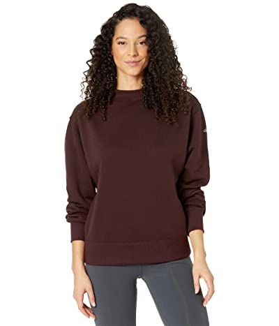 ALO Freestyle Sweatshirt (Oxblood) Women