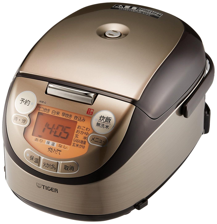 上院議員リラックス絶妙タイガー 炊飯器 3合 土鍋 IH ブラウン 炊きたて ミニ 炊飯 ジャー JKM-G550-T Tiger