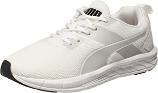 Puma Men's Meteor Nu Idp White-Glacier Gray-pu Running Shoes