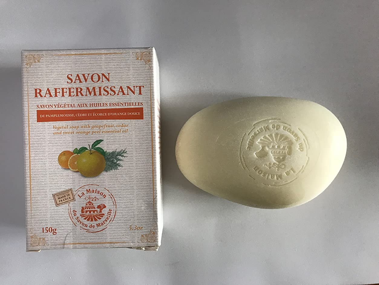 対話薄めるカーテンSavon de Marseille Soap with essential oils,Firming 150g
