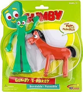NJ Croce Gumby & Pokey Bendable Figure Pair