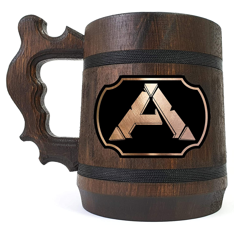 ARK Some reservation Wooden Beer Mug Gamer Colorado Springs Mall Stein Gift Ha Engraved