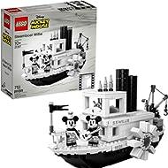 LEGO Ideas 21317 Disney Steamboat Willie Building Kit , New 2019 (751 Piece)
