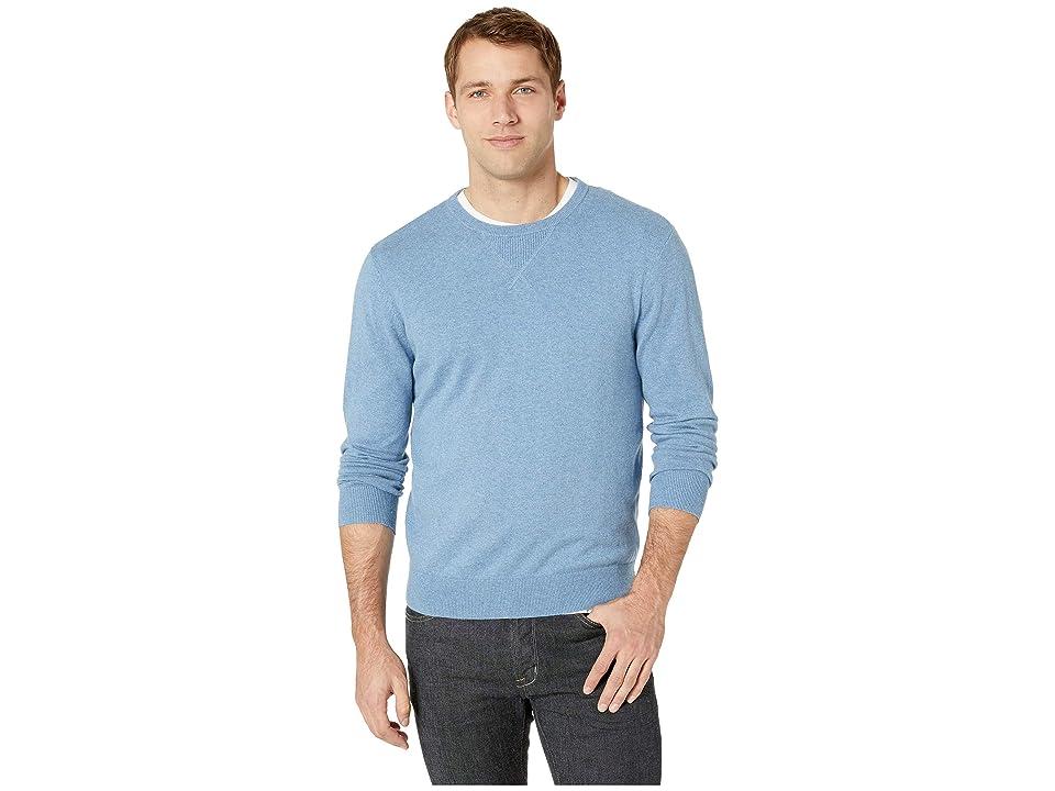 Pendleton Sweatshirt Sweater (Solid Sea Breeze) Men
