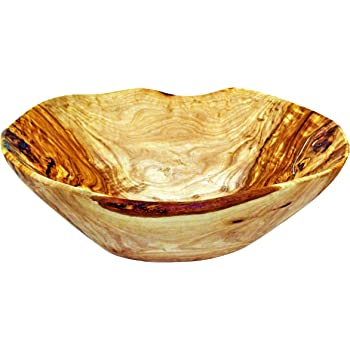 fruit bowl Olive wood bowl live edge olive wood fruit bowl Personalized olive wood bowl 10-12 inches wood fruit bowl