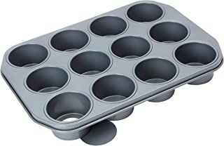 Baker's Pride 12 cup Dessert pan with loose bases (7.5 x 4.5cm cups)