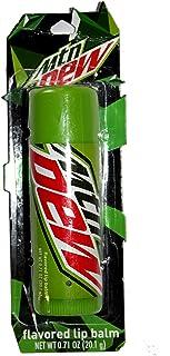 Taste Beauty (1) Stick Mountain Dew Soda Flavored Giant Lip Balm Tube - Gluten Free - 4.75