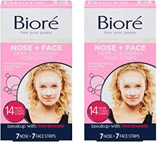 Best Biore Deep Cleansing Pore Strips Combo Pack, 14 strips (Pack of 2) Review
