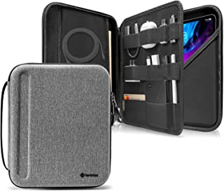 tomtoc Portfolio Case for iPad Pro 12.9-inch 2018 & 2020, Protective Sleeve with Accessories Pocket, Carrying Storage Bag ...