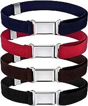 Kids Magnetic Belt Adjustable Elastic Belt with Magnetic Buckle for Boys Daily Use Girls
