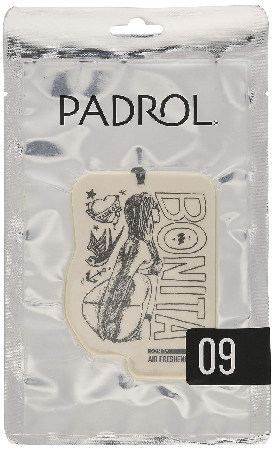 光電追加錆びPADROL ルームフレグランス エアーフレッシュナー BONITA 吊り下げ アンバーバニラの香り PAD-5-09