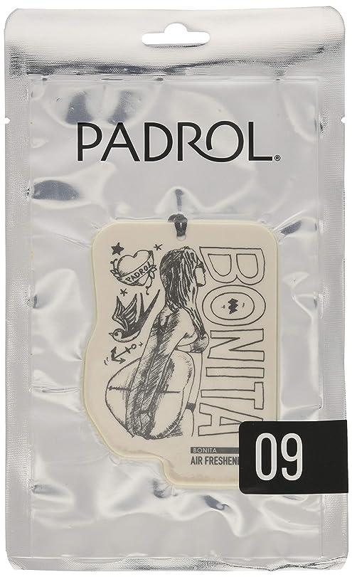 仮装意義ボウリングノルコーポレーション ルームフレグランス エアーフレッシュナー パドロール 吊り下げ BONITA PAD-5-09 アンバーバニラの香り 1枚