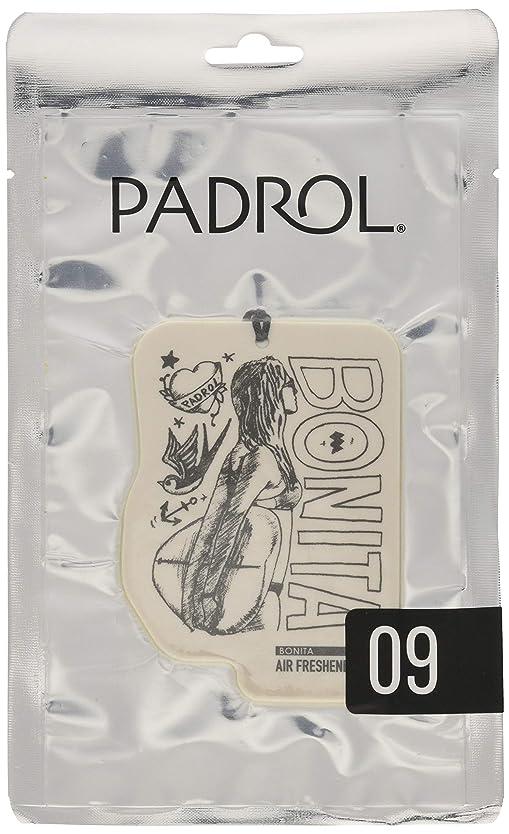 PADROL ルームフレグランス エアーフレッシュナー BONITA 吊り下げ アンバーバニラの香り PAD-5-09