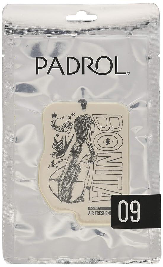 優勢発明振幅PADROL ルームフレグランス エアーフレッシュナー BONITA 吊り下げ アンバーバニラの香り PAD-5-09