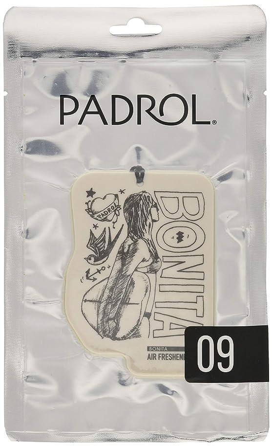 代表するまもなくホイッスルノルコーポレーション ルームフレグランス エアーフレッシュナー パドロール 吊り下げ BONITA PAD-5-09 アンバーバニラの香り 1枚