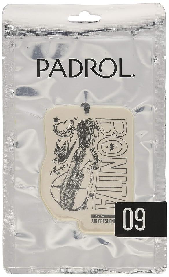 絶妙放棄された移行ノルコーポレーション ルームフレグランス エアーフレッシュナー パドロール 吊り下げ BONITA PAD-5-09 アンバーバニラの香り 1枚