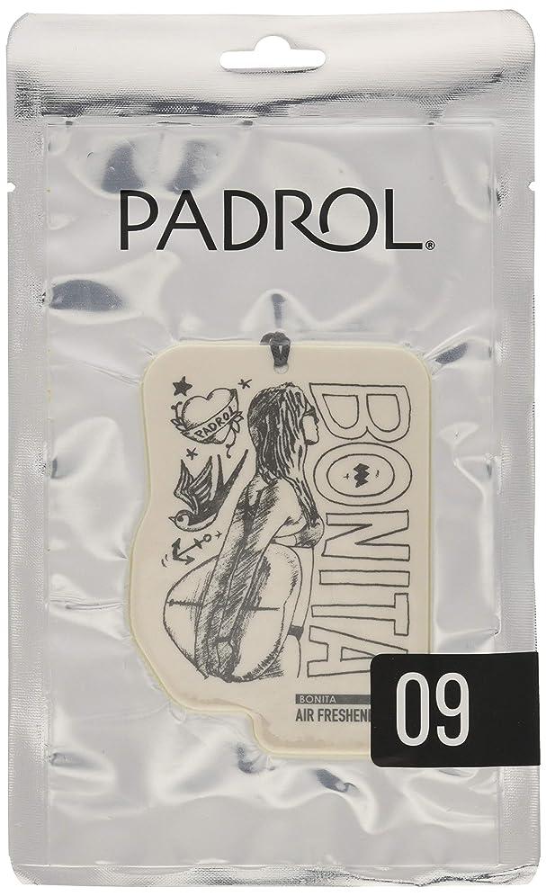 コントラスト満了光沢のあるノルコーポレーション ルームフレグランス エアーフレッシュナー パドロール 吊り下げ BONITA PAD-5-09 アンバーバニラの香り 1枚