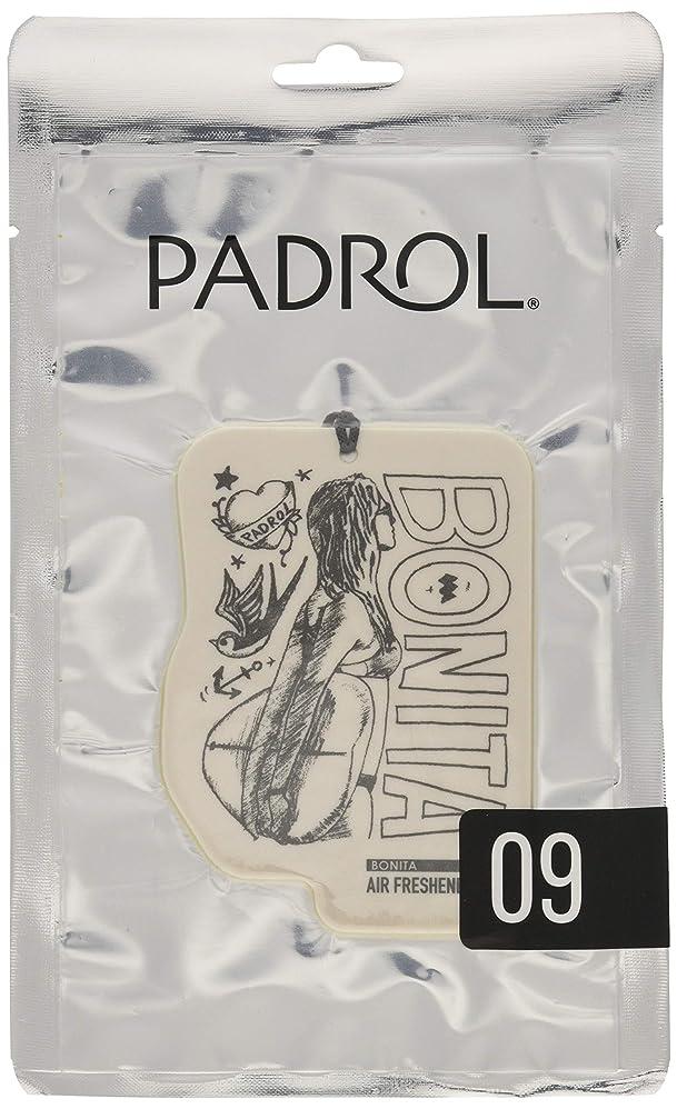 まつげ手術やりがいのあるノルコーポレーション ルームフレグランス エアーフレッシュナー パドロール 吊り下げ BONITA PAD-5-09 アンバーバニラの香り 1枚