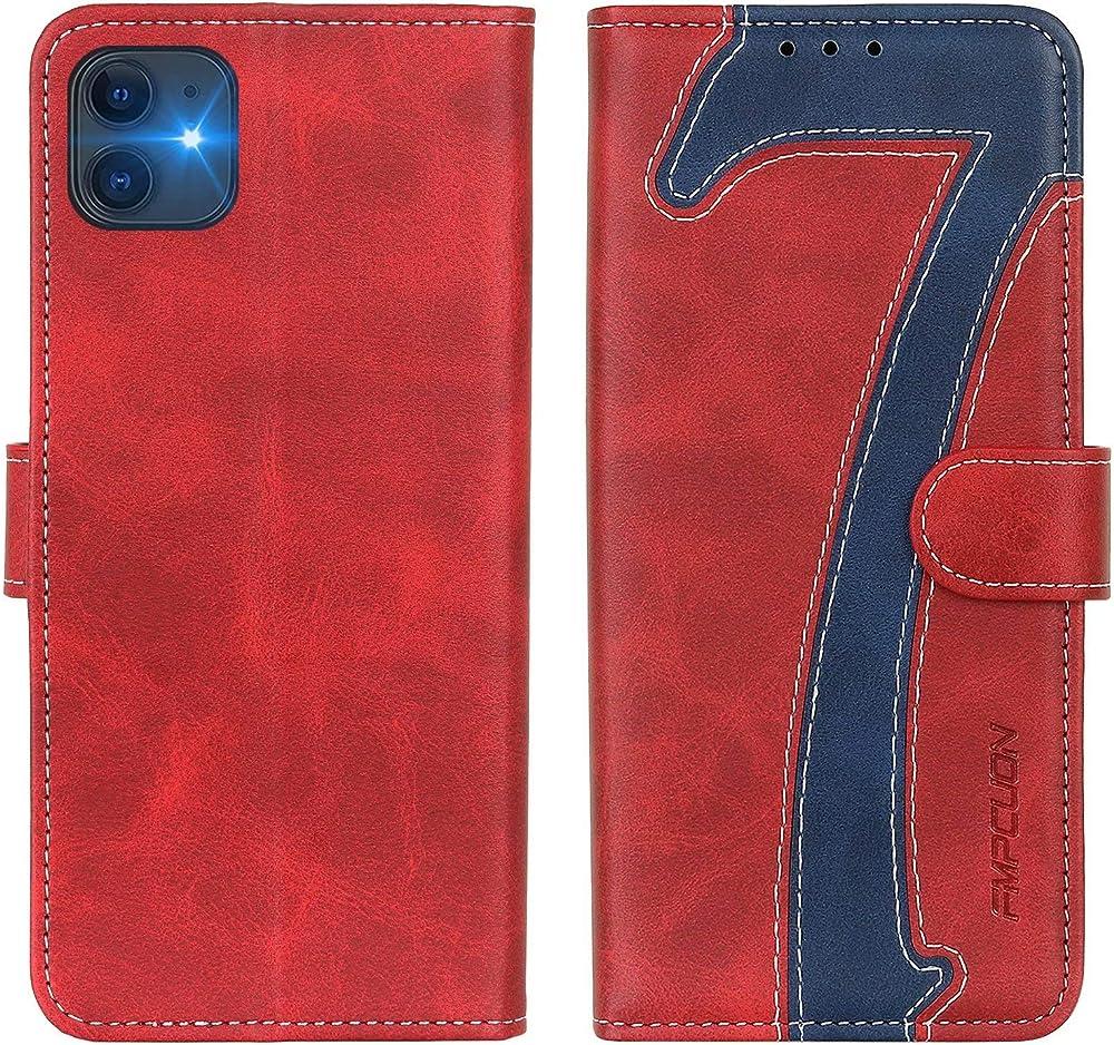 Fmpcuon custodia in pelle per xiaomi redmi note 9 portacarte di credito portafoglio PinSe7-QuanBu-FR-XL