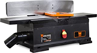 WEN 6560T 6 in. 10 Amp Corded Cast Iron Benchtop Jointer with Filter Bag