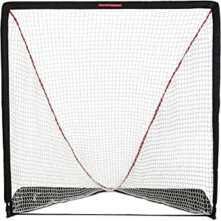 Rukket Rip It Portable Lacrosse Goal | Pop Up Lax Net for Backyard Shooting | Collapsible, Foldable, Travel Goals