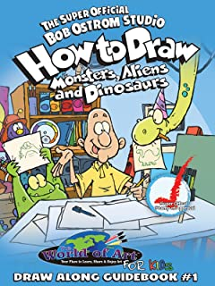 How to Draw: Monsters, Aliens, Dinosaurs