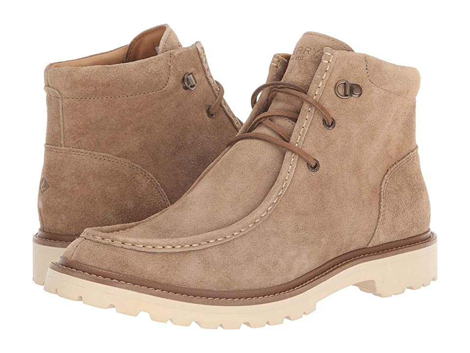 Sperry Gold Windsor Lug Chukka (Taupe Suede) Men