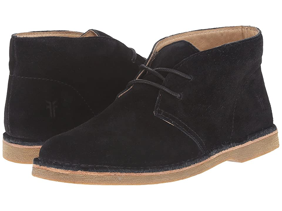 Frye Kids Alex Chukka (Little Kid/Big Kid) (Black) Kids Shoes