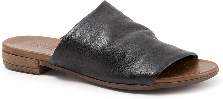 BUENO Women's Turner in Black Leather, 39 EU