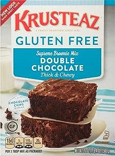 Krusteaz Gluten Free Double Chocolate Brownie Mix, 20 Oz