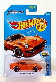 Hot Wheels 2017 Factory Fresh Custom Datsun 240Z 174/365, Orange