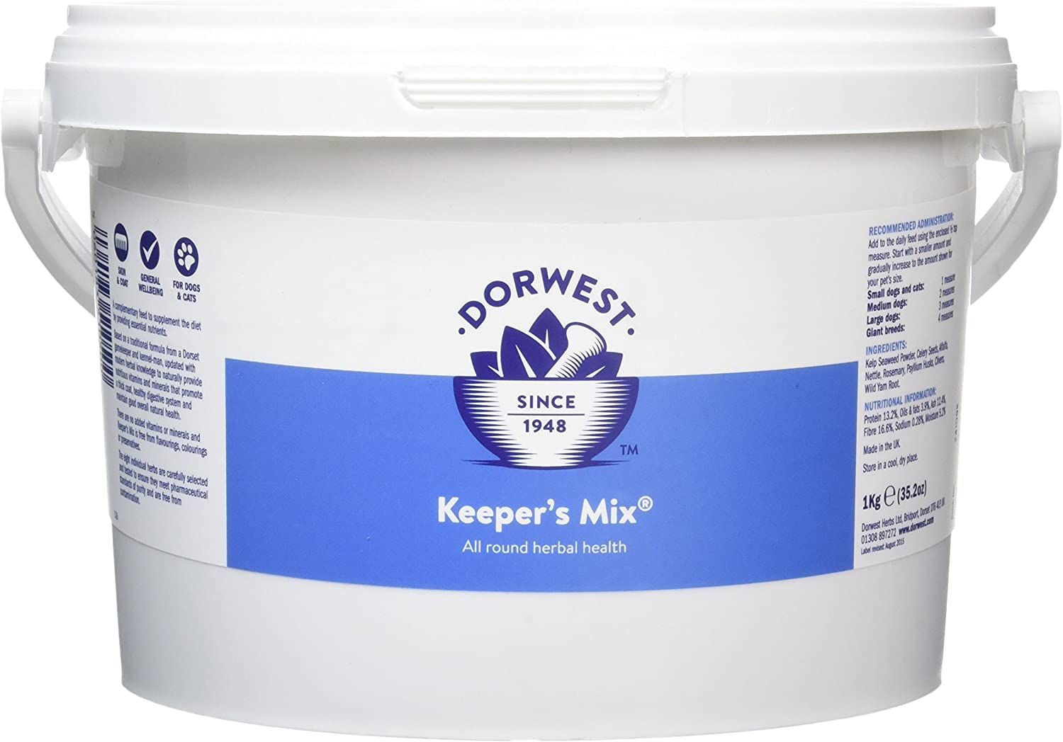 Dorwest Herbs Keepers Mix Powder for Dogs and Cats 1kg