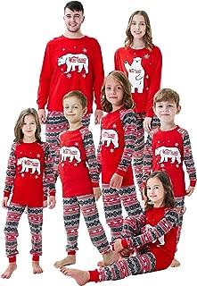 Family Matching Holiday Pajamas Sets Toddler Stripe Pjs Boys Sleepwear Clothes