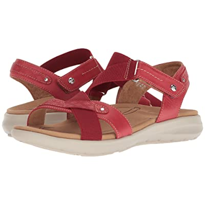 Earth Bali (Bright Red Soft Leather) Women