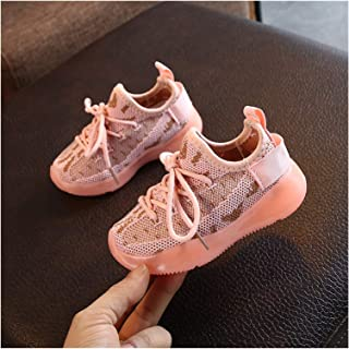YOUPIN New Baby Sneakers 2020 Fashion Children's Flat Shoes Baby Kids Girls Shoes Stretch Breathable Mesh Sports Running S...
