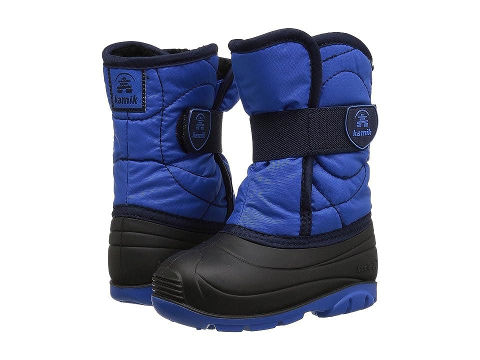 Kamik Kids Snowbug 3 (Toddler) (Blue) Boys Shoes