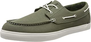 Timberland Men's Newport Bay Oxford Boat Shoes, Green