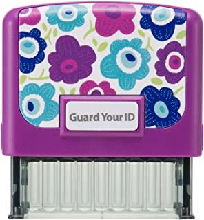 """Identity Theft Prevention Confidential Security Stamp 2.25"""" x 0.75"""