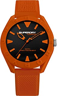 Superdry Osaka Analog Black Dial Men's Watch-SYG243O