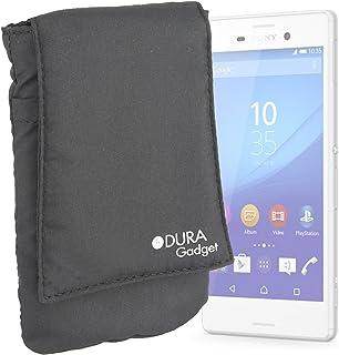 585b9e66928 DURAGADGET Funda Negra Protectora para Sony Xperia M4 Aqua/E4g/NW-ZX2  Walkman