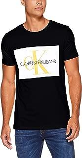 Calvin Klein Men's J307843-Black S/S T-Shirts