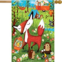 Briarwood Lane Wilderness Camp Summer House Flag Fox Tents Camping 28